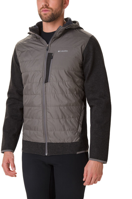 Columbia BOUBIOZ HOODED FULL ZIP - Giacca in pile graphite